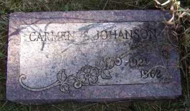 JOHANSON, CARMEN T - Moody County, South Dakota | CARMEN T JOHANSON - South Dakota Gravestone Photos