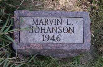 JOHANSON, MARVIN L - Moody County, South Dakota | MARVIN L JOHANSON - South Dakota Gravestone Photos