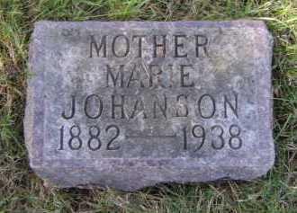 JOHANSON, MARIE - Moody County, South Dakota | MARIE JOHANSON - South Dakota Gravestone Photos