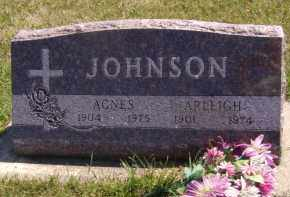 JOHNSON, ARLEIGH - Moody County, South Dakota | ARLEIGH JOHNSON - South Dakota Gravestone Photos