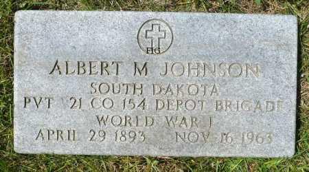 JOHNSON, ALBERT M (MILITARY) - Moody County, South Dakota | ALBERT M (MILITARY) JOHNSON - South Dakota Gravestone Photos