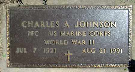 JOHNSON, CHARLES ARLEN (WWII) - Moody County, South Dakota | CHARLES ARLEN (WWII) JOHNSON - South Dakota Gravestone Photos