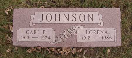 JOHNSON, CARL E - Moody County, South Dakota | CARL E JOHNSON - South Dakota Gravestone Photos
