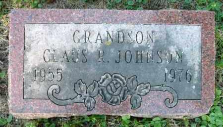 JOHNSON, CLAUS R. - Moody County, South Dakota | CLAUS R. JOHNSON - South Dakota Gravestone Photos