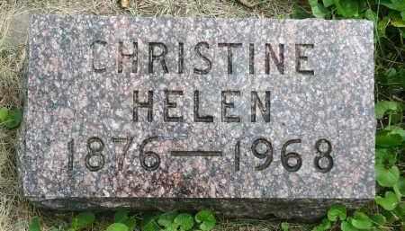 JOHNSON, CHRISTINE HELEN - Moody County, South Dakota | CHRISTINE HELEN JOHNSON - South Dakota Gravestone Photos