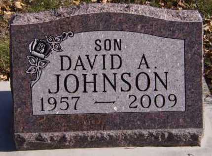 JOHNSON, DAVID A - Moody County, South Dakota | DAVID A JOHNSON - South Dakota Gravestone Photos
