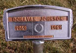 JOHNSON, DONAVAN - Moody County, South Dakota | DONAVAN JOHNSON - South Dakota Gravestone Photos