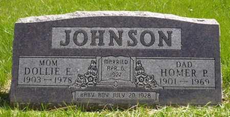 JOHNSON, DOLLIE E - Moody County, South Dakota | DOLLIE E JOHNSON - South Dakota Gravestone Photos
