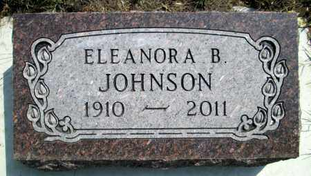 JOHNSON, ELEANORA B. - Moody County, South Dakota | ELEANORA B. JOHNSON - South Dakota Gravestone Photos