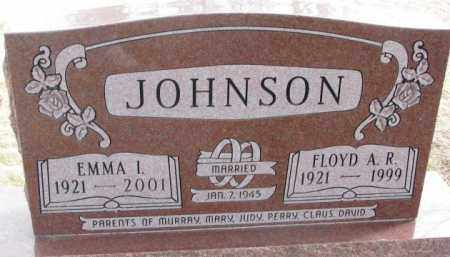 JOHNSON, FLOYD A.R. - Moody County, South Dakota | FLOYD A.R. JOHNSON - South Dakota Gravestone Photos