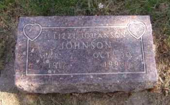 JOHNSON, E LIZZI - Moody County, South Dakota | E LIZZI JOHNSON - South Dakota Gravestone Photos