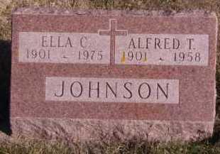 JOHNSON, ELLA C - Moody County, South Dakota | ELLA C JOHNSON - South Dakota Gravestone Photos
