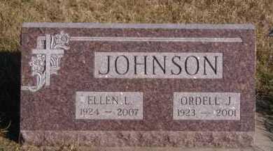 JOHNSON, ELLEN L - Moody County, South Dakota   ELLEN L JOHNSON - South Dakota Gravestone Photos