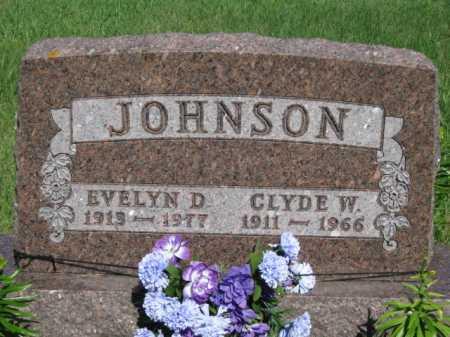 JOHNSON, EVELYN D - Moody County, South Dakota | EVELYN D JOHNSON - South Dakota Gravestone Photos