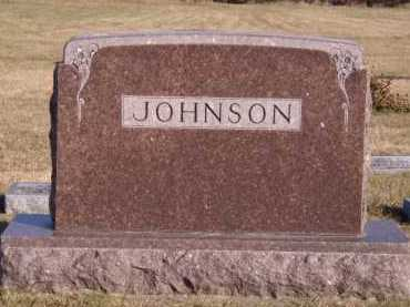 JOHNSON, FAMILY - Moody County, South Dakota | FAMILY JOHNSON - South Dakota Gravestone Photos