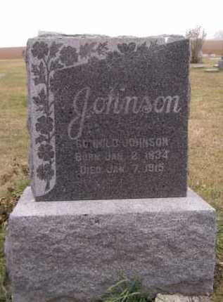 JOHNSON, GUNHILD - Moody County, South Dakota   GUNHILD JOHNSON - South Dakota Gravestone Photos