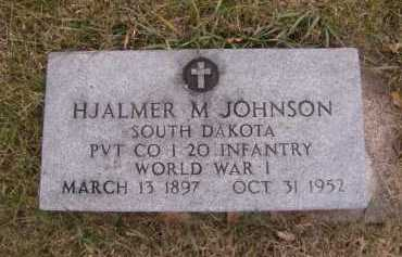 JOHNSON, HJALMER M - Moody County, South Dakota | HJALMER M JOHNSON - South Dakota Gravestone Photos