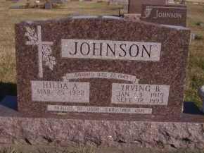 JOHNSON, IRVING B - Moody County, South Dakota | IRVING B JOHNSON - South Dakota Gravestone Photos