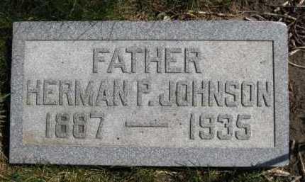 JOHNSON, HERMAN P - Moody County, South Dakota | HERMAN P JOHNSON - South Dakota Gravestone Photos