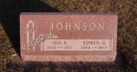 JOHNSON, IDA E - Moody County, South Dakota | IDA E JOHNSON - South Dakota Gravestone Photos