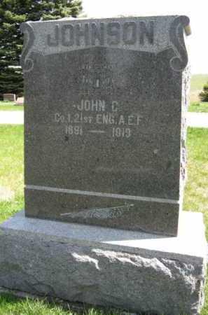 JOHNSON, JOHN C (MILITARY) - Moody County, South Dakota | JOHN C (MILITARY) JOHNSON - South Dakota Gravestone Photos