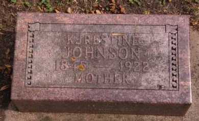 JOHNSON, KJRESTINE - Moody County, South Dakota | KJRESTINE JOHNSON - South Dakota Gravestone Photos