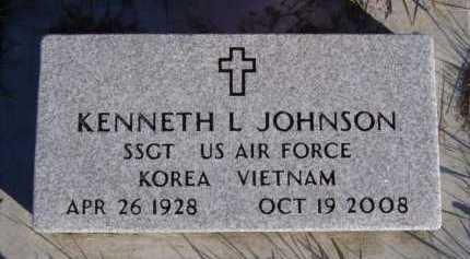 JOHNSON, KENNETH L - Moody County, South Dakota | KENNETH L JOHNSON - South Dakota Gravestone Photos