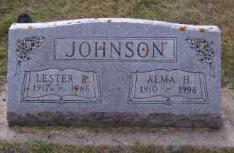 JOHNSON, ALMA H - Moody County, South Dakota | ALMA H JOHNSON - South Dakota Gravestone Photos