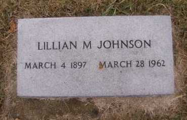 JOHNSON, LILLIAN M - Moody County, South Dakota | LILLIAN M JOHNSON - South Dakota Gravestone Photos