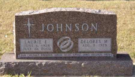 JOHNSON, LAURIE E - Moody County, South Dakota | LAURIE E JOHNSON - South Dakota Gravestone Photos