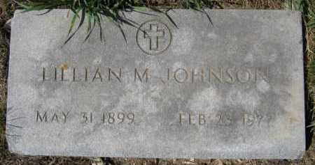 JOHNSON, LILLIAN M - Moody County, South Dakota | LILLIAN M JOHNSON - South Dakota Gravestone Photos