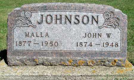 JOHNSON, JOHN W. - Moody County, South Dakota | JOHN W. JOHNSON - South Dakota Gravestone Photos