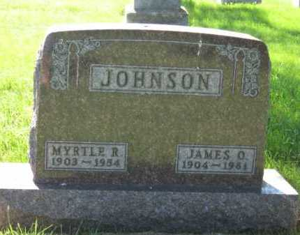 JOHNSON, MYRTLE R - Moody County, South Dakota | MYRTLE R JOHNSON - South Dakota Gravestone Photos