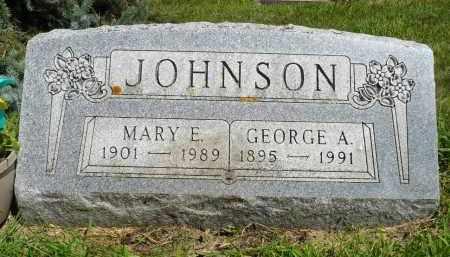 JOHNSON, MARY E. - Moody County, South Dakota | MARY E. JOHNSON - South Dakota Gravestone Photos