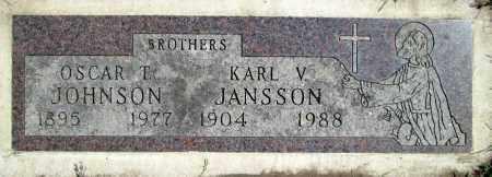 JOHNSON, OSCAR T. - Moody County, South Dakota   OSCAR T. JOHNSON - South Dakota Gravestone Photos