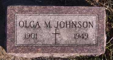 JOHNSON, OLGA M - Moody County, South Dakota | OLGA M JOHNSON - South Dakota Gravestone Photos