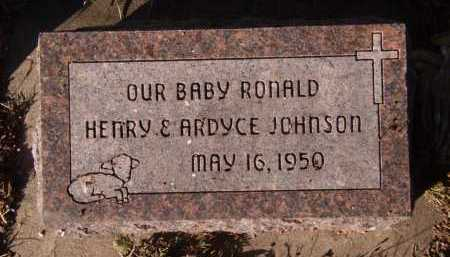 JOHNSON, RONALD - Moody County, South Dakota | RONALD JOHNSON - South Dakota Gravestone Photos