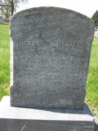 JOHNSON, RUBEN ENGVAL - Moody County, South Dakota | RUBEN ENGVAL JOHNSON - South Dakota Gravestone Photos