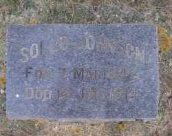 JOHNSON, SOLLO - Moody County, South Dakota   SOLLO JOHNSON - South Dakota Gravestone Photos