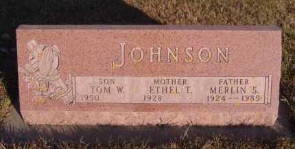 JOHNSON, TOM W - Moody County, South Dakota | TOM W JOHNSON - South Dakota Gravestone Photos