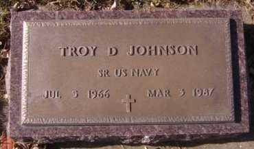 JOHNSON, TROY D (MILITARY) - Moody County, South Dakota | TROY D (MILITARY) JOHNSON - South Dakota Gravestone Photos