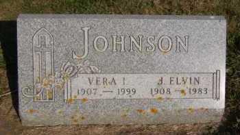 JOHNSON, VERA I - Moody County, South Dakota | VERA I JOHNSON - South Dakota Gravestone Photos
