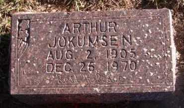 JOKUMSEN, ARTHUR - Moody County, South Dakota | ARTHUR JOKUMSEN - South Dakota Gravestone Photos