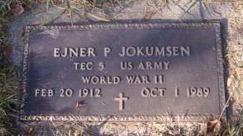 JOKUMSEN, EJNER P. - Moody County, South Dakota | EJNER P. JOKUMSEN - South Dakota Gravestone Photos