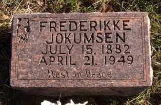 JOKUMSEN, FREDERIKKE - Moody County, South Dakota | FREDERIKKE JOKUMSEN - South Dakota Gravestone Photos
