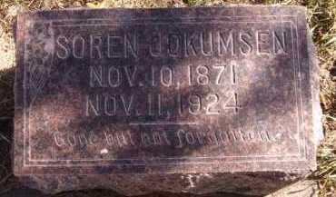 JOKUMSEN, SOREN - Moody County, South Dakota   SOREN JOKUMSEN - South Dakota Gravestone Photos