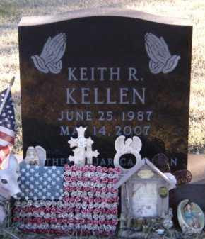 KELLEN, KEITH R - Moody County, South Dakota | KEITH R KELLEN - South Dakota Gravestone Photos