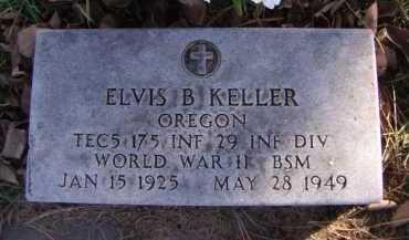 KELLER, ELVIS B - Moody County, South Dakota | ELVIS B KELLER - South Dakota Gravestone Photos