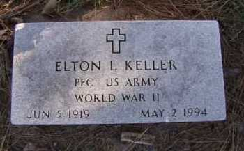 KELLER, ELTON L - Moody County, South Dakota | ELTON L KELLER - South Dakota Gravestone Photos