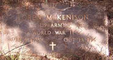 KENISON, LOREN M - Moody County, South Dakota | LOREN M KENISON - South Dakota Gravestone Photos